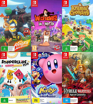 AU14.95 • Buy Nintendo Switch Case Only *NO GAME* Choose Your Own Title *Free Next Day Post*