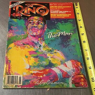 $5 • Buy 1993 The Ring Magazine: Riddick Bowe By LeRoy Neiman