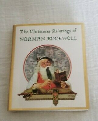 $ CDN24.20 • Buy CHRISTMAS PAINTINGS OF NORMAN ROCKWELL MINIATURE EDITION Hardcover