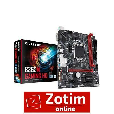 AU121.46 • Buy Gigabyte GA-B365M GAMING HD DDR4 8th/9th Gen Intel Motherboard