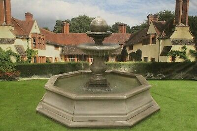 Small Brecon Pool Surround, With  Regis Ball  Garden Water Fountain Feature • 2,436.50£