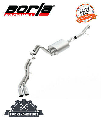$1164.45 • Buy Borla 140652 S-Type Cat-Back Exhaust System Fits 15-20 Escalade Yukon
