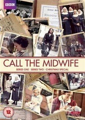 NEW Call The Midwife - Series 1 & 2 & Christmas Special (DVD, 6-Disc Set) Sealed • 6.75£