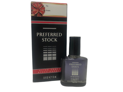 $4.84 • Buy New Men's Preferred Stock After Shave .5 Fl Oz / 15 Ml (Black Gift Box)