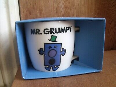 Mr Grumpy Mug Roger Hargreaves Mr Men Boxed Free UK Post • 17£