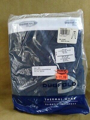 $5 • Buy NEW Duofold Thermal Wear (slightly Imperfect) Size L