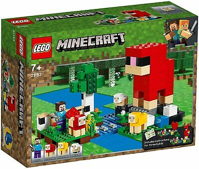 AU36.49 • Buy LEGO Minecraft: The Wool Farm (21153)