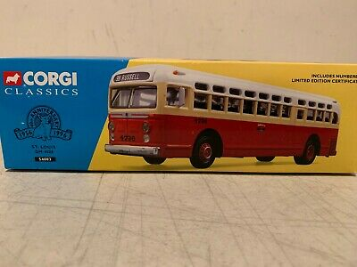 $34.99 • Buy Corgi Classics St Louis Gm 4505 Bus #54003 Nib