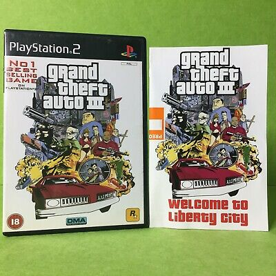 AU21.95 • Buy Grand Theft Auto III 3 - EUR PAL COVER | PAL PS2 | Playstation 2 | Warranty