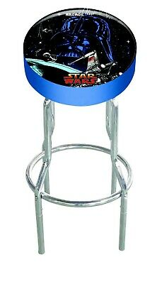 $129.99 • Buy Star Wars Arcade 1up OFFICIAL Game Room Custom Stool Play Seat  Gameplay Stools