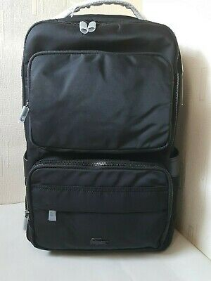 LACOSTE  Classic Black Backpack RRP£155 • 86£