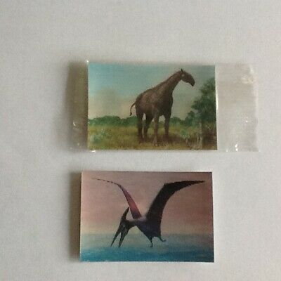 Kelloggs Prehistoric Monsters And The Present Cards • 2£