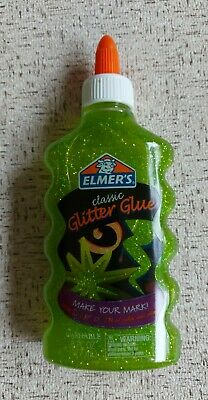 AU14 • Buy Elmers Glue-Apple Green Glitter Glue 6oz