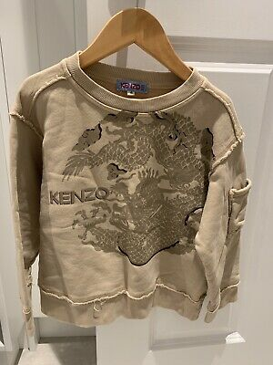 AU32 • Buy Kenzo Junior Jumper With Dragon Print Size 4