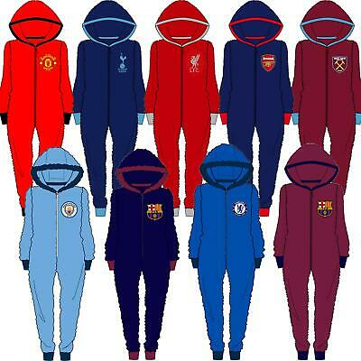 £21.95 • Buy Mens Official Football Club Fleece All In One Jumpsuit Size S M L XL NEW