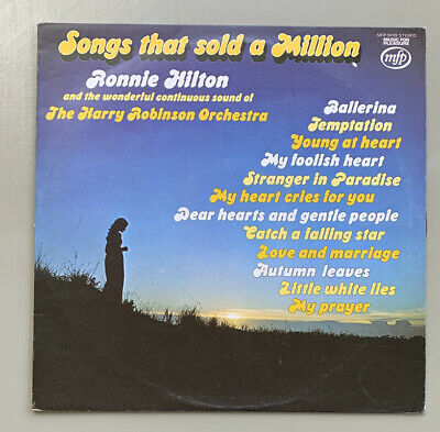 £1.49 • Buy  Ronnie Hilton – Songs That Sold A Million (MFP50189) 1975 (LP)