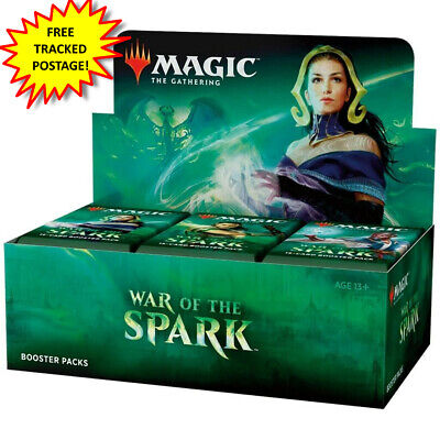 AU159 • Buy War Of The Spark FREE TRACKED POSTAGE Magic The Gathering MTG Booster Box Sealed