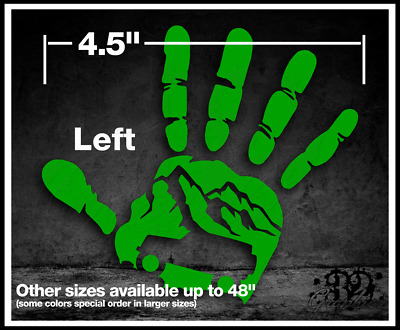 $3.21 • Buy Off Road Wave Vinyl Sticker 4x4 Mountain Hand Print Four Wheel Drive Decal Mud