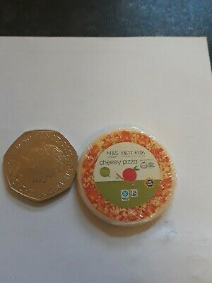 M&S Little Shop Collectable Marks And Spencer Mini Food Pizza • 1.80£