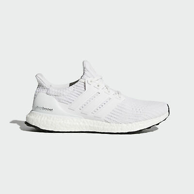 $161.24 • Buy Adidas Ultra Boost 4.0 TRIPLE WHITE ALL WHITEOUT OG BLACK BB6168 UltraBOOST 7.5