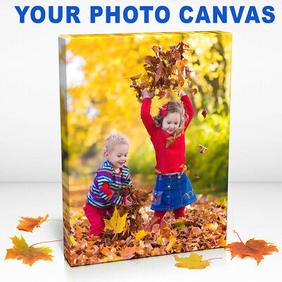 Personalised Photo To Canvas Print. Your Picture On Canvas. Pics To Wall Art • 7.99£