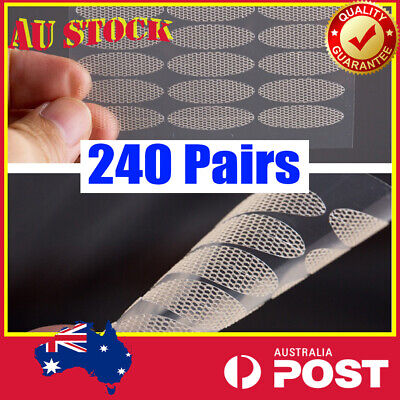 AU6.98 • Buy 240 Pairs Invisible Lace Double Eyelid Stickers Tape Cosmetic Makeup Tool AU EYE