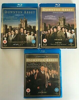 Downtown Abbey Series 1 + 2 And Christmas Special Blue-ray • 8.49£