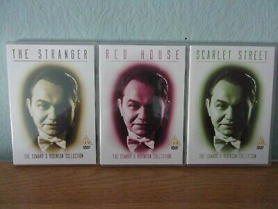 The Edward G Robinson Collection 3 Dvd Set Good As New • 24.95£