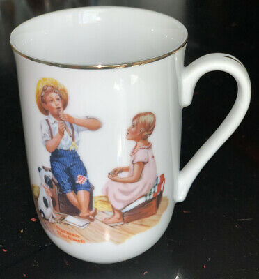 $ CDN5.51 • Buy The Music Master Norman Rockwell Museum Mug Cup Series 1982