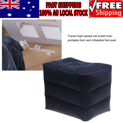 AU10.49 • Buy 2019 Inflatable Foot Rest Travel Air Pillow Cushion Leg Footrest Relax Kids Bed