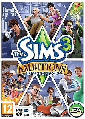 The Sims 3: Ambitions (PC: Mac, 2010) • 1.50£