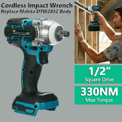 Torque Impact Wrench Brushless Cordless Replacement Fit Makita DTW285Z Battery • 28.89£