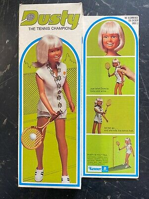 $49.99 • Buy KENNER 1974 Rare Never Played With DUSTY THE TENNIS CHAMPION NIB