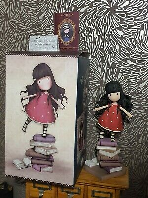 Gorjuss Large Figurine Figure Enesco A26482 New Heights. Boxed. Perfect. • 10.50£