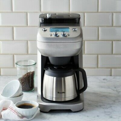 $275 • Buy Breville BDC650BSS The Grind Control Coffee Maker - Silver