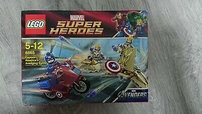 Lego Super Heroes 6865 Captain America Avenging Cycle | Vietch3 • 25.98£