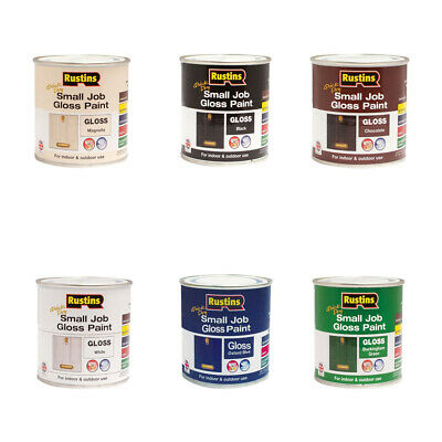 Indoor & Outdoor Use Gloss Paint In 6 Colours And Quick Dry Within 30 Minutes • 7.99£