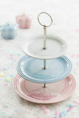 New In Gift Box Le Creuset Japan Ltd Ed Sanrio Little Twinstar 3 Tier Cake Stand • 199.99£