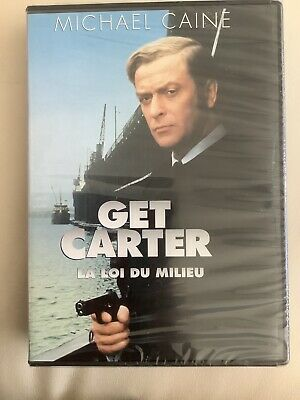 Get Carter DVD, Michael Caine, Rare Snapcase / OOP, Commentary, New • 12.29£
