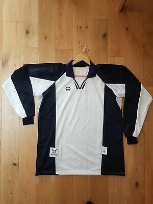£76 • Buy Mens Football Team Kit - 8 X Shirts And 8 X Shorts In White/Navy  Size Large