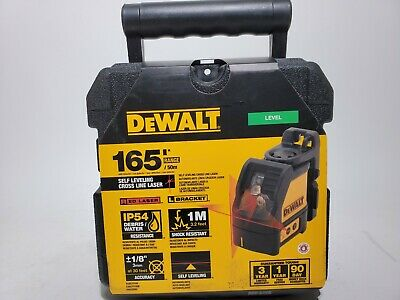 $135 • Buy OPEN BOX Dewalt DW088K Self Levelling Line Laser Horizontal & Vertical Lines NIB