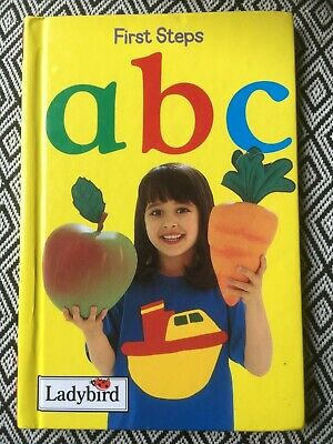 Ladybird Book, First Steps ABC - Learning At Home Series • 3.50£