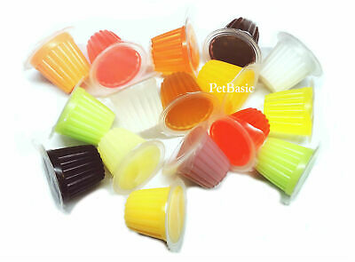 £6.15 • Buy 12 X Assorted Jelly Pots Treat Crested Gecko Insect Food Bearded Dragon
