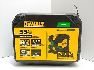 $99.95 • Buy NEW DeWALT DW08802CG Green Cross Line Laser Level SEALED