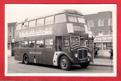 Cardiff Bus Photo ~ Western Welsh 708: 1963 NCME AEC Regent V - 331 Pontypridd • 2.75£