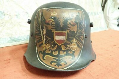 Original Ww1 German Austrian Souvenir Steel Trench Helmet  • 22£