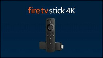 AU130 • Buy Amazon Fire TV Stick 4K (3rd Gen) With 2nd Gen Alexa Voice Remote - Black
