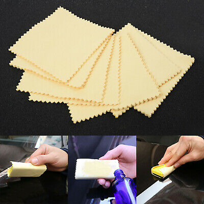 $6.71 • Buy Microfiber Clothes 20 Pcs Nano Ceramic Glass Paint Coating Application Lint-Free
