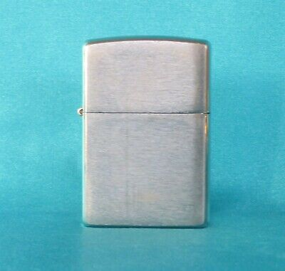 AU15 • Buy Collectable 2006 Brushed Chrome Zippo Lighter. Working!