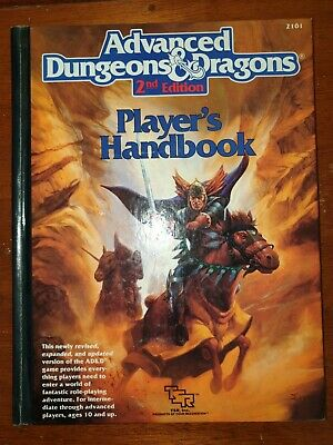 AU42 • Buy Dungeons And Dragons Players Handbook 2nd Edition